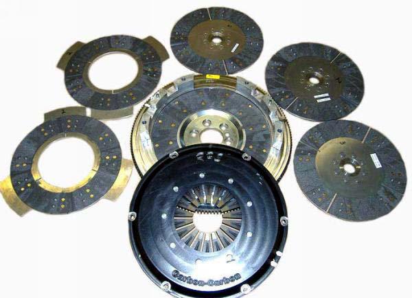 triple carbon disc