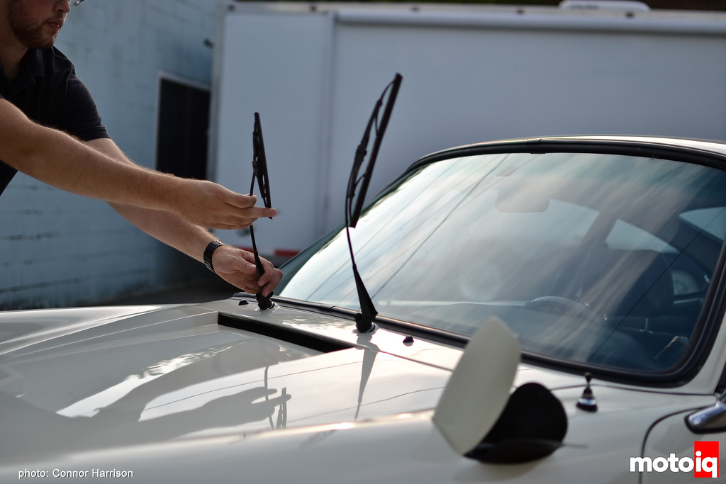 Connor Harrison Detailing wiper arm trick wash basics