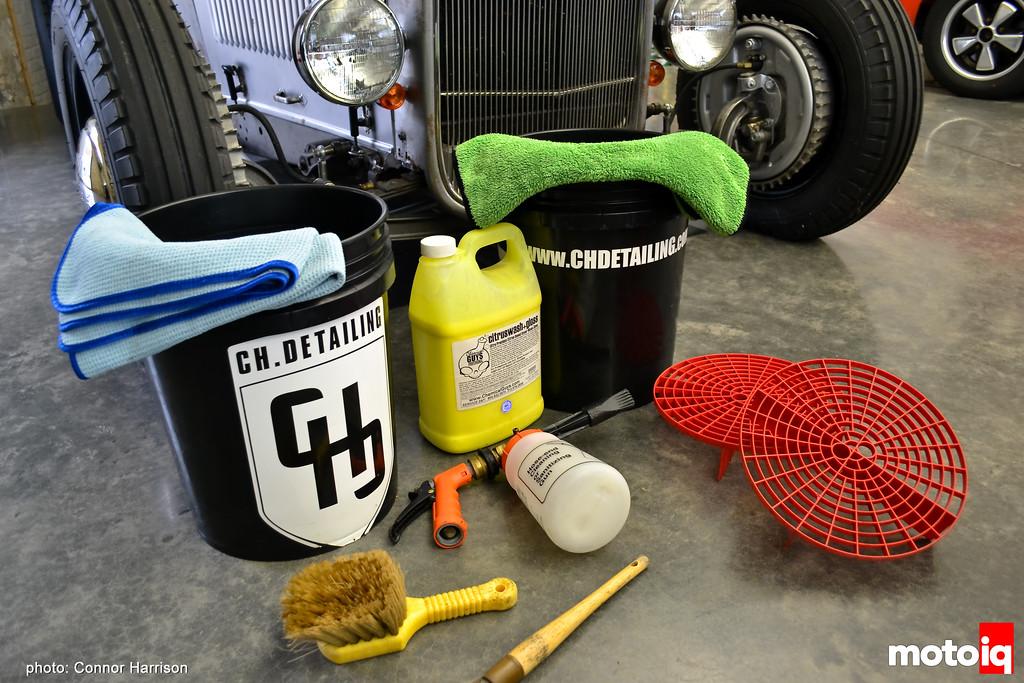 CHD Connor Harrison Detailing Car Wash Basic necessities bucket grit guard foam gun tire wheel brush wash drying towel microfiber