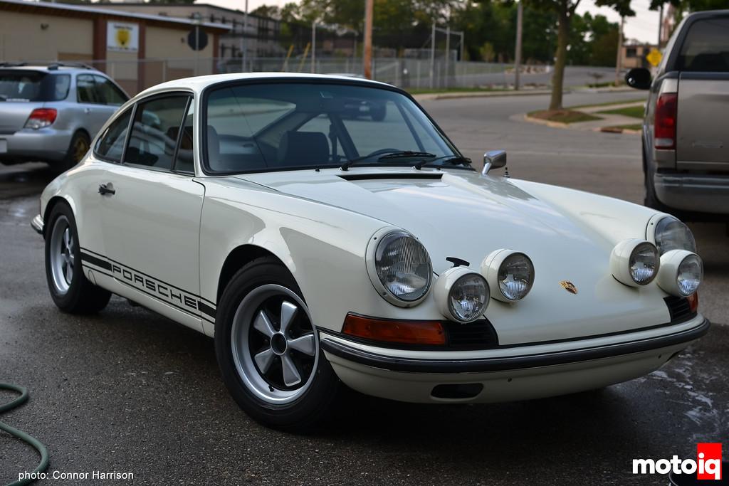 Connor Harrison Detailing washed Porsche