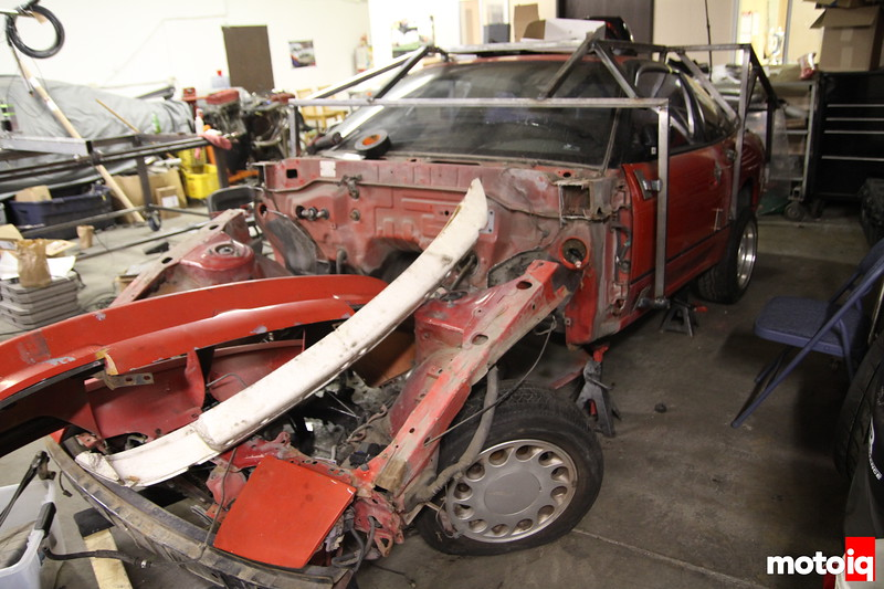 Sneak Peek: S13 Tube Chassis Drift Car Part I