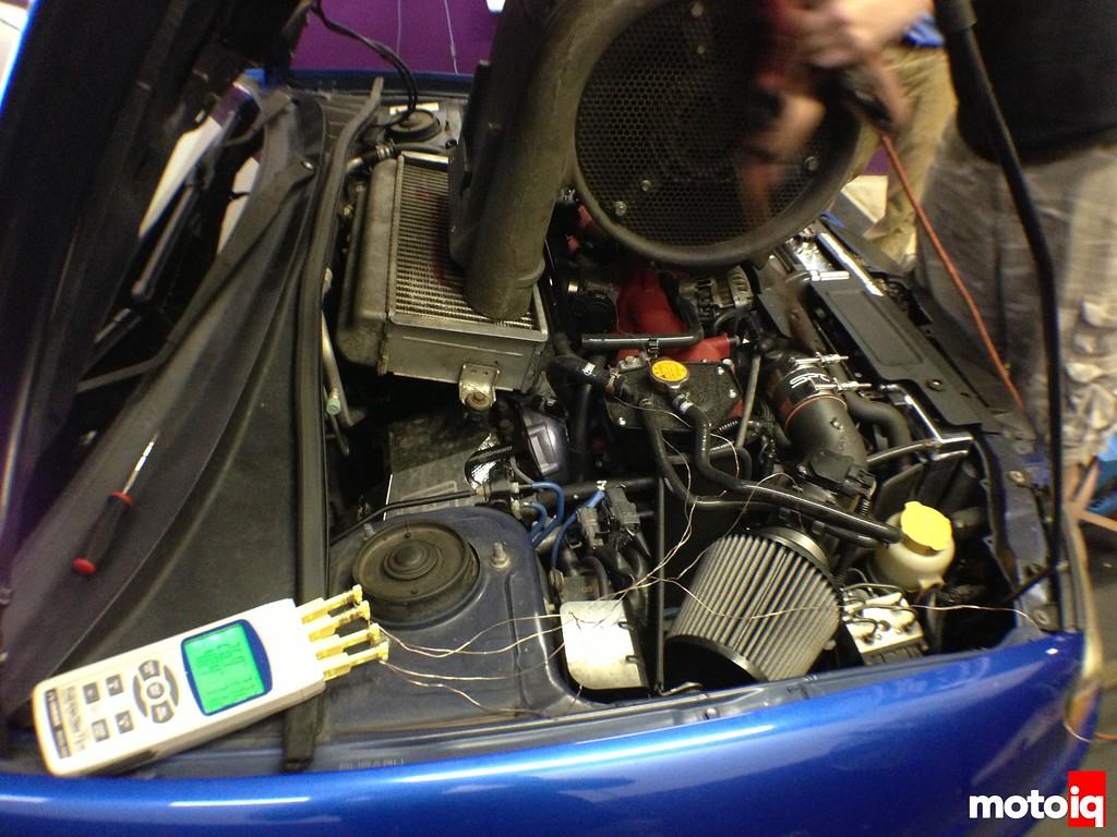 GrimmSpeed intercooler test Six Star Motorsports