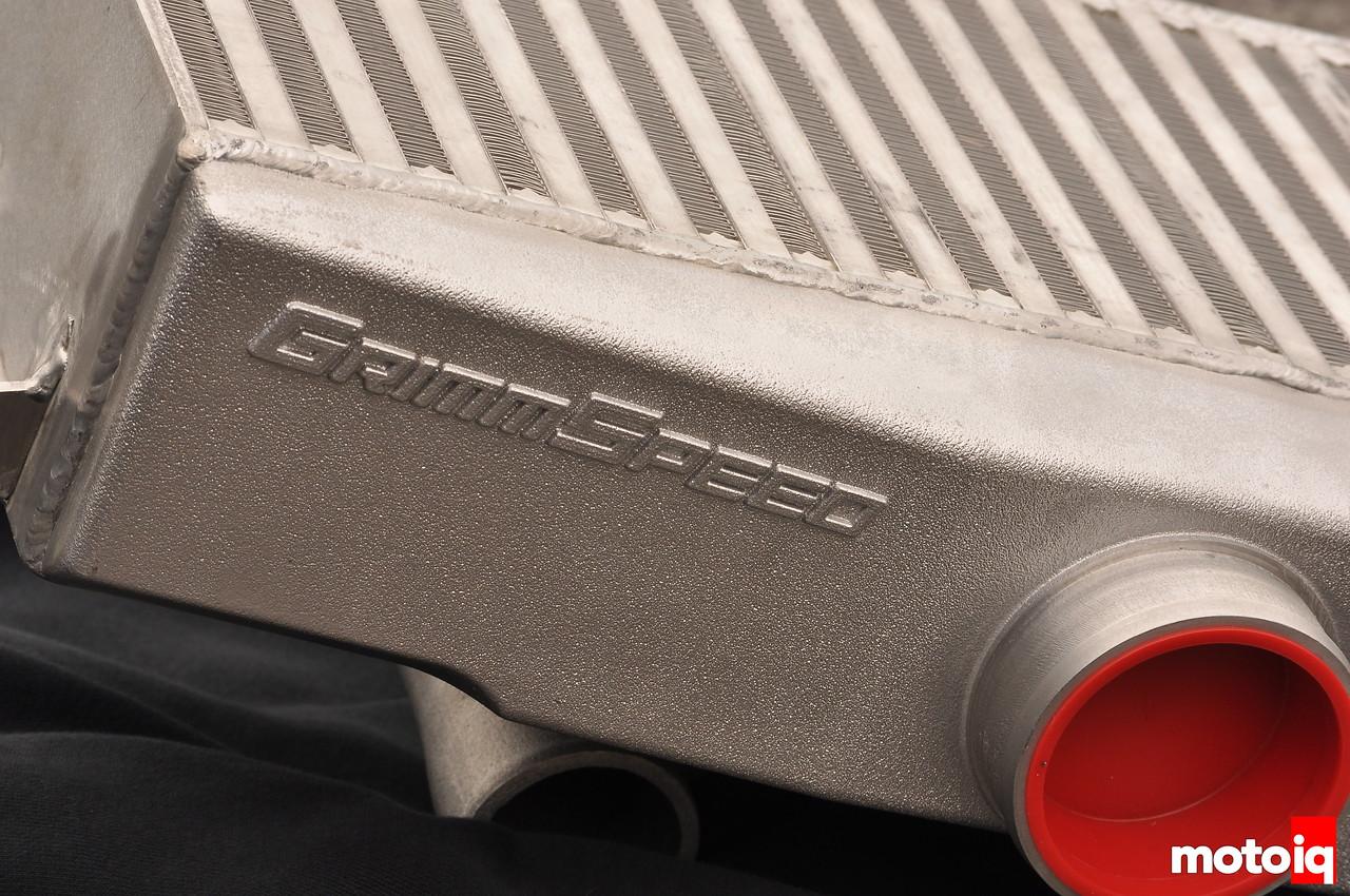 GrimmSpeed Subaru top mount intercooler tested MotoIQ