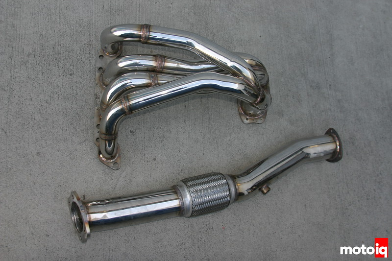 MotoIQ Project G20 Hotshot Gen VI stainless header