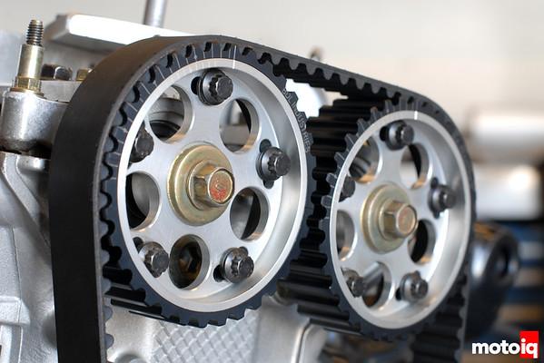 Honda B-series DOHC adjustable cam gears