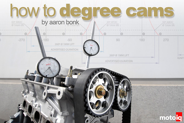 How To Degree Cams
