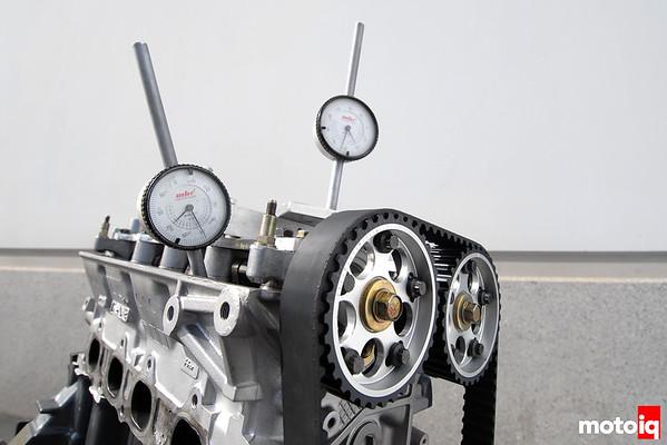 Honda B-series and dial indicators