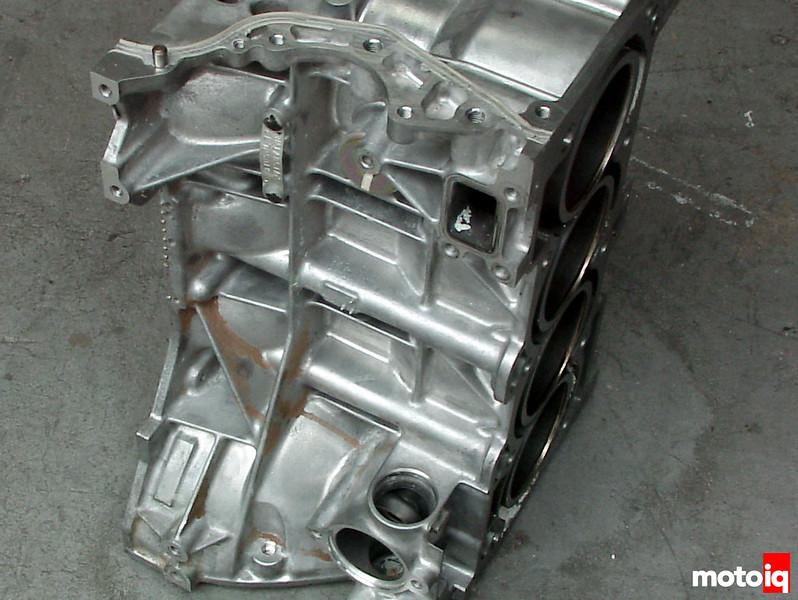 Nissan QR25DE block