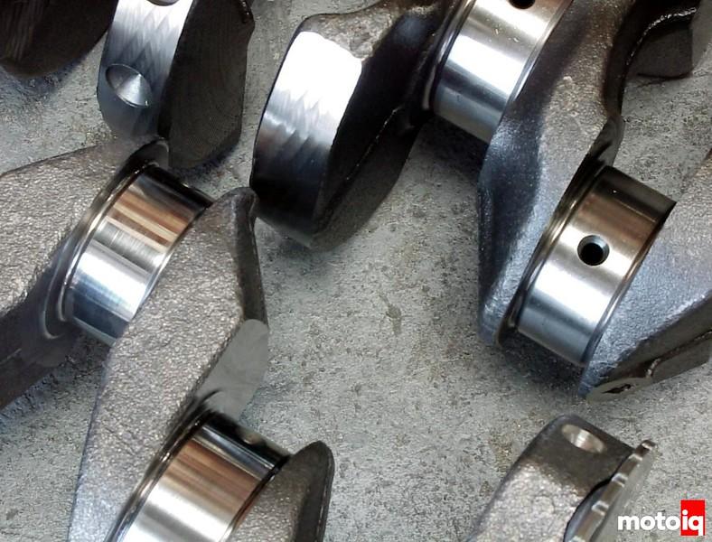QR25DE vs SR20DE crank