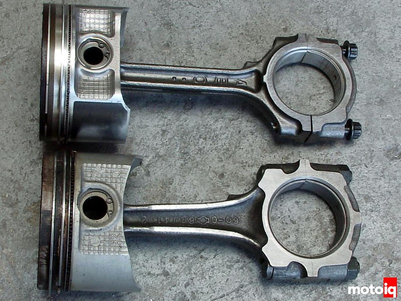 QR25DE VS SR20DE rods and pistons