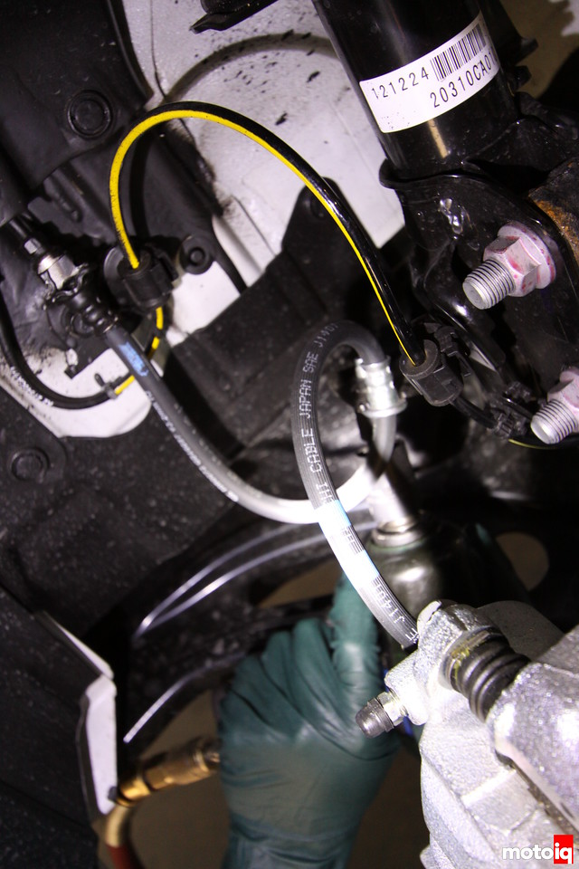 FR-S suspension removal