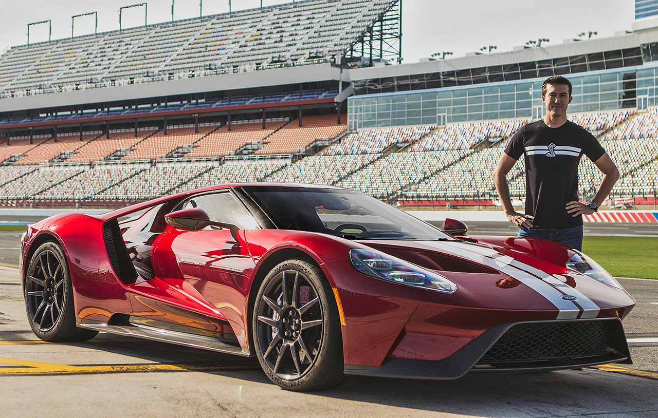 Billy Johnson Ford GT Racing and Development Driver