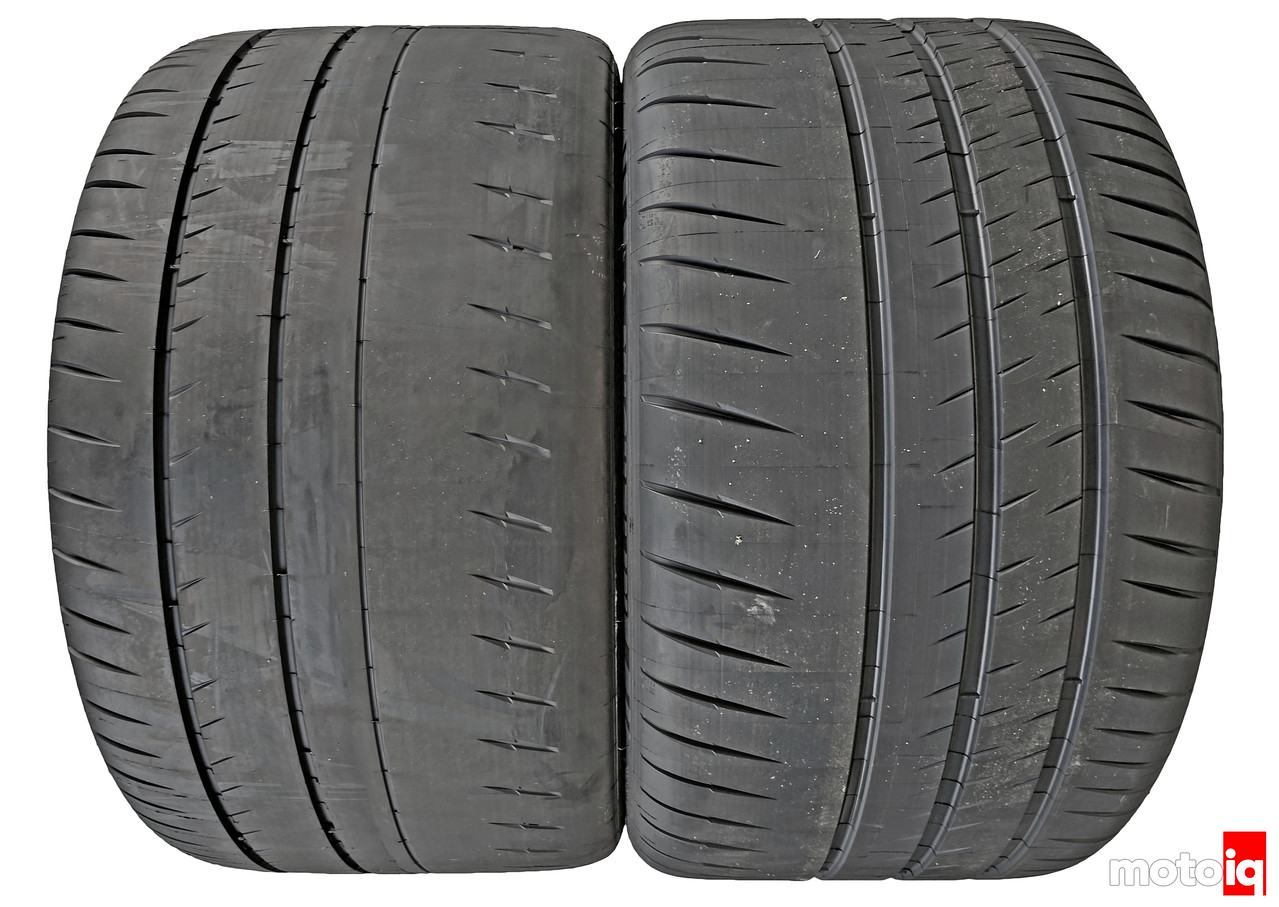 Michelin Pilot Sport Cup 2 vs Cup 2 tread difference