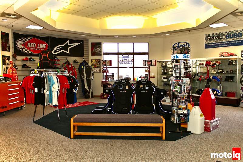 Pegasus Auto Racing Showroom