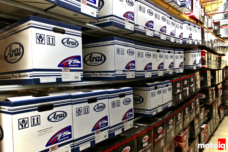 Arai and Bell Helmets