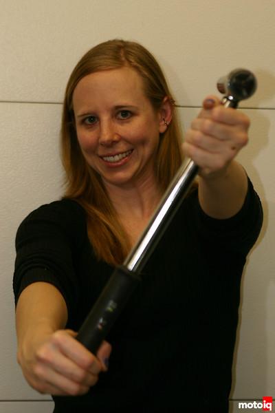 Sarah Forst Knows Torque!