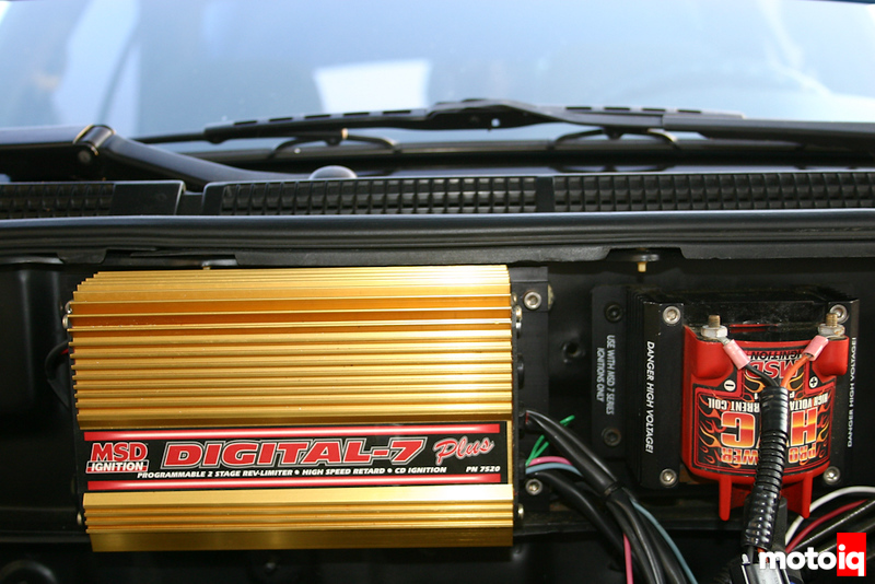 MSD ignition with external coil