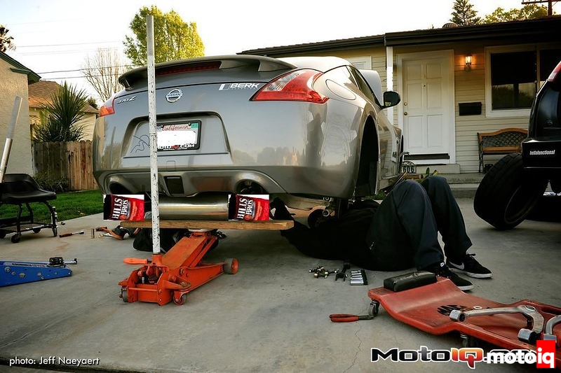 Project 370Z with Hills Bros exhaust