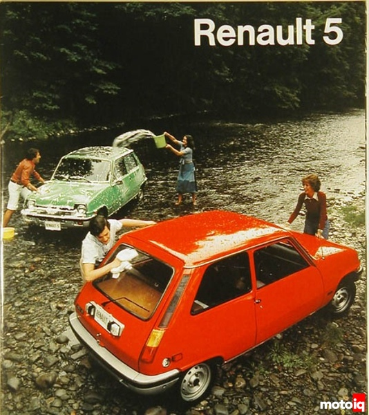 Renault 5 ad from 1976