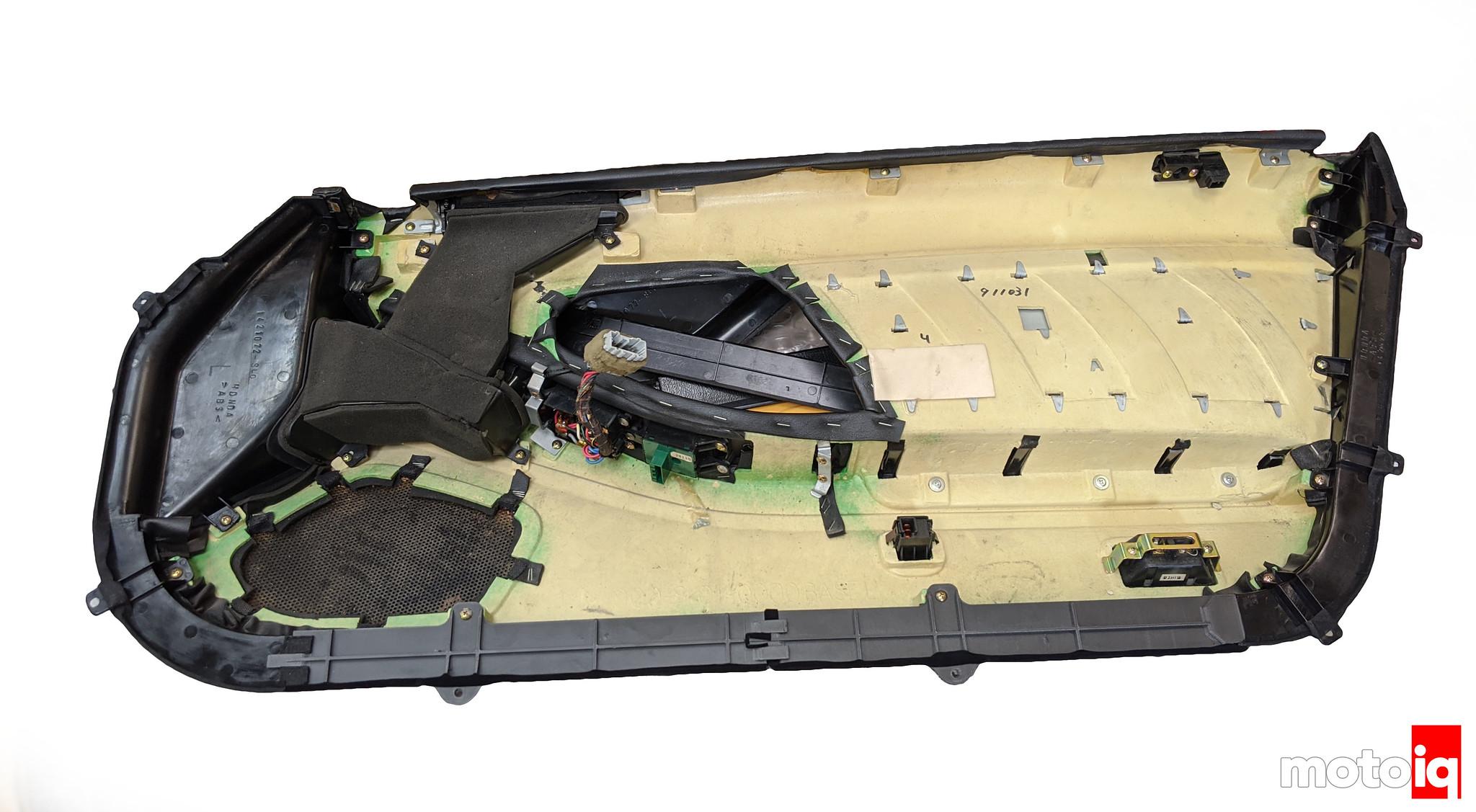 NSX 3D printed lower door frame Billy Design