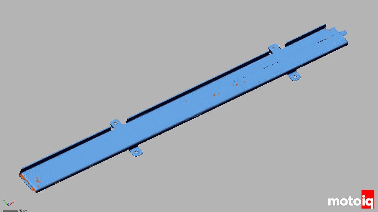 NSX Door Frame Laser Scan