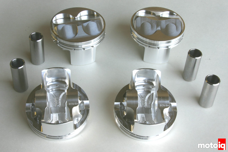 JE Forged pistons