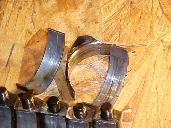 detonation damaged bearings