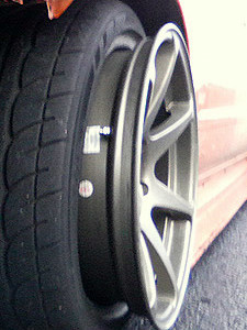 overstreched tire de beaded