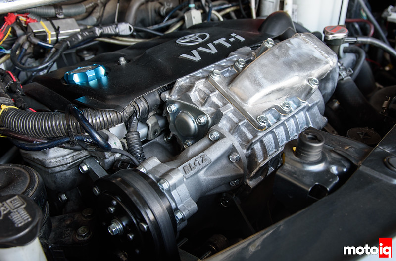 The Blitz Electronic Supercharged Toyota Yaris! - MotoIQ