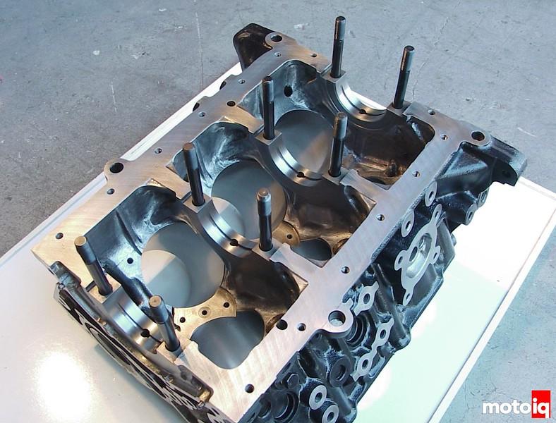 Nissan VG30DETT prepped block
