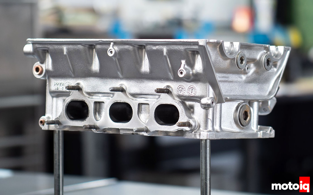 Vapor Blasted C30A NSX head by Mountune