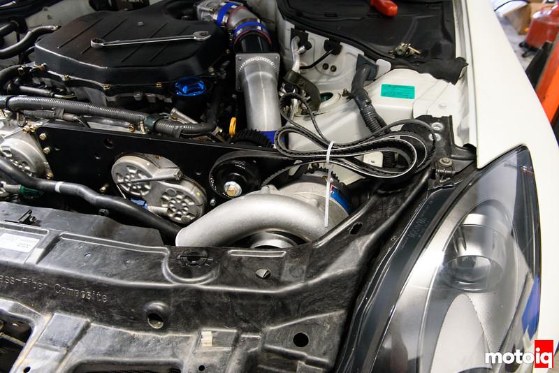 Supercharging the Nissan VQ35DE with Vortech!