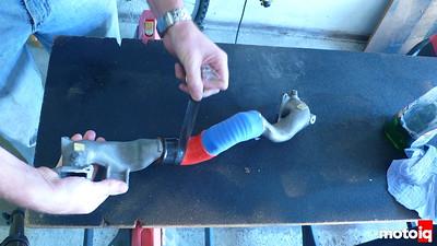 silicone hose wrap