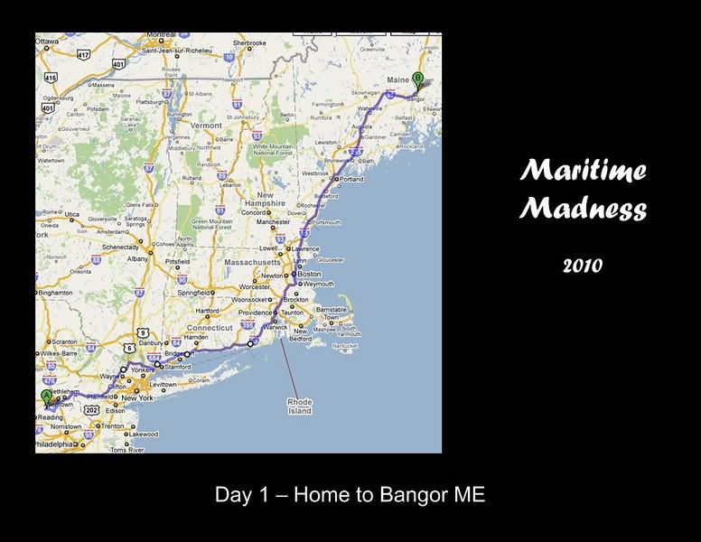 Eight states, 650 miles...