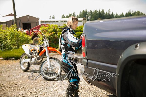 2013 Tia's New KTM MX bike