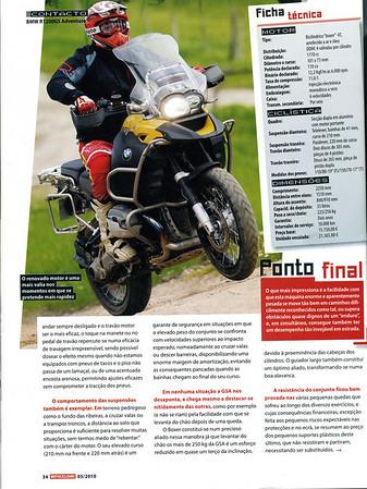 Revista Motociclismo Maio 2010