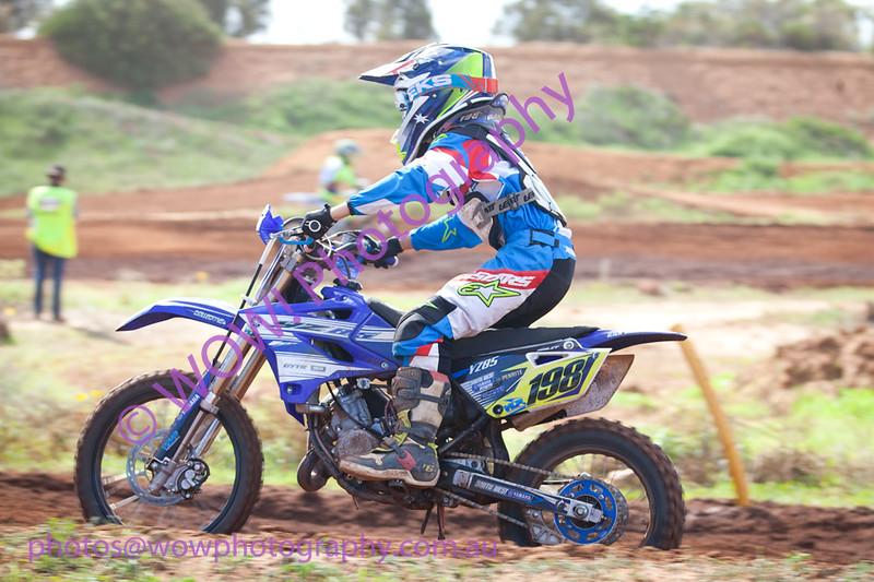 WAMX Junior Motocross State round 1 2016 Geraldton