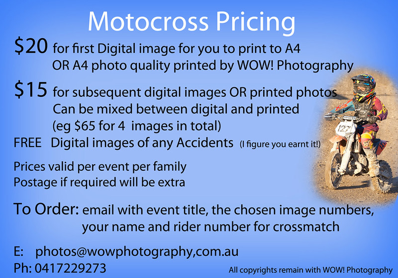 motocross prices
