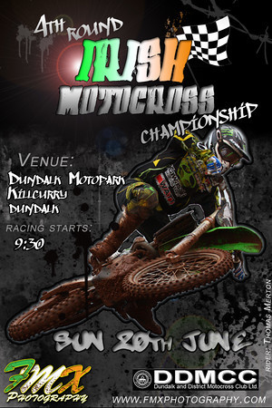 unofficial poster for 4th round of irish championship