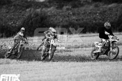 Kerr #6 leads McGee #17 & Maguire #8 in the first Grade A race.