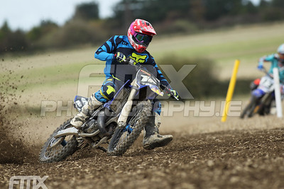 Liam Sinnott showed he is still the one to beat in the youth 125/250 race.