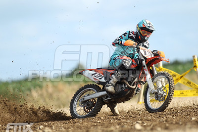 Nathan Markey gets on the gas.