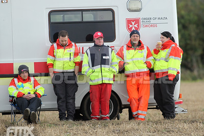 Medical crew were on standby and were soon needed shortly after this was taken. Well done to all involved in getting to all fallen riders as soon as they could.