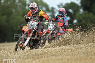 Keith Hughes aboard his KTM.