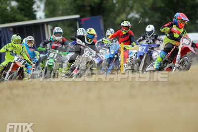 The start of the Youth 250 class.
