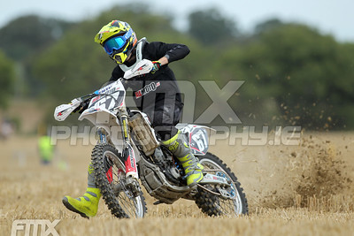 Keeping it steady , Jack Whearty in the youth class.