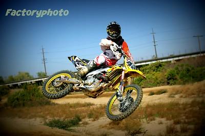 MMX practice photos.