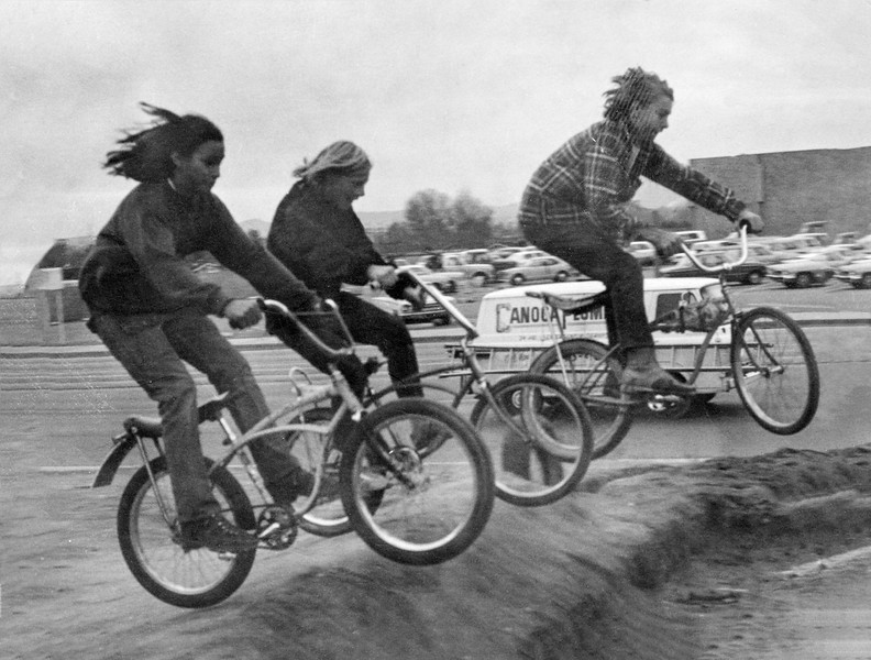 Bicycle Motocross in 1972