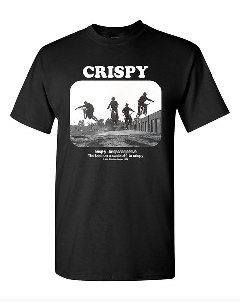 Crispy 70's BMX Photo T-shirt