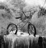 "First production Mongoose Bicycle - The ""bike-in-the-box"", <br /> by BMX Products, Chatsworth, California."